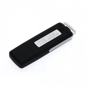 Spy voice recorder - in USB key with 4GB memory