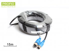 Extension 4-pin cable 15 m for a reversing camera