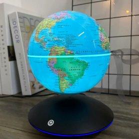Magnetic levitation globe (floating) withlightand lamp