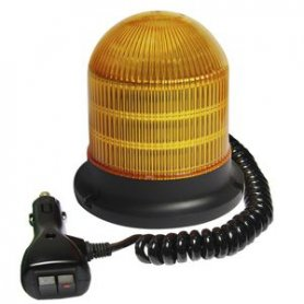 LED beacon light flashing 24 x 1W with magnet