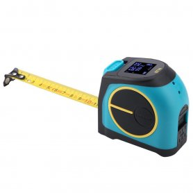 Laser meter and tape measure 5m with LCD display