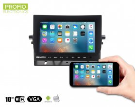 "10,1 ""WiFi LCD monitor u automobilu - Mirror Link"