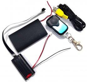 Full HD Pinhole tajná kamera na dálkové ovládání + baterie 2500mAh + detekce pohybu
