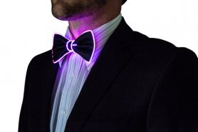 Lighting férfi nyakkendő - lila