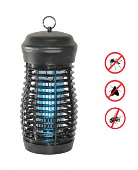 Insect killer - Waterproof UV lamp IPX4 - 360° with a power of 18W