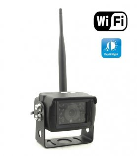 AHD Wireless reversing camera with IR night vision 13 m and viewing angle up to 150 °