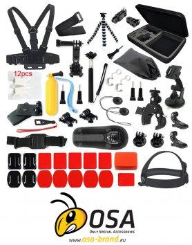 Balíček příslušenství pro akční kamery - OSA PACK Profi