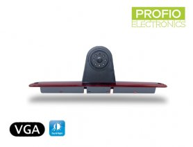 Parking camera in rear brake light for Mercedes Sprinter + Volkswagen Crafter