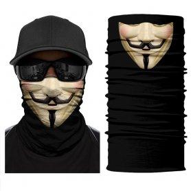 Anonimo (VENDETA) - bandana multifunzionale