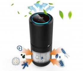 Multifunctional Ionizer + Air purifier and humidifier with aromatherapy and poluttion detection