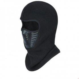 Pasamontañas de esquí para invierno (snowboard, moto de nieve) - Black Ninja