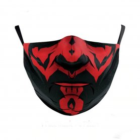 Design face mask - 100% polyester Darth Maul