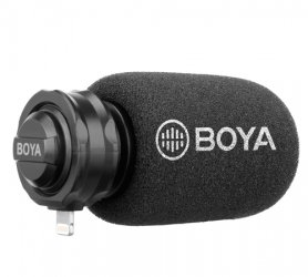 Microfono mobile BOYA BY-DM200 per iOS