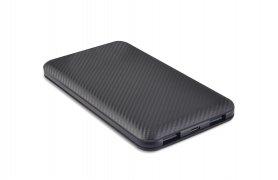 Powerbank o pojemności 10000 mAh i podwójnym wyjściu USB 2,0A
