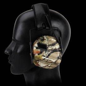 Slušalice protiv buke za lov s radiom + mikrofonom