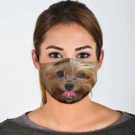 YORKSHIRE face mask 3D design print