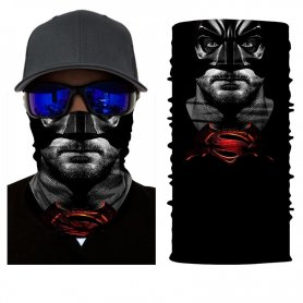 BATMAN vs. SUPERMAN - Bandana (pokrivala) za obraz