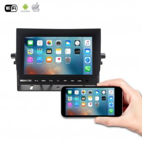 "10,1"" WiFi LCD monitor in car - Mirror Link"