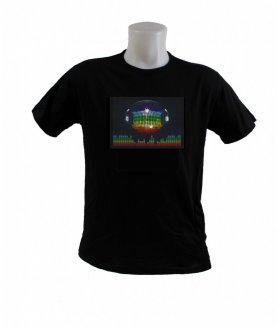 Farbparty T-SHIRT - Disco Ball Equalizer