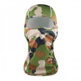 Balaclava Tactical Camouflage - Masque facial élastique