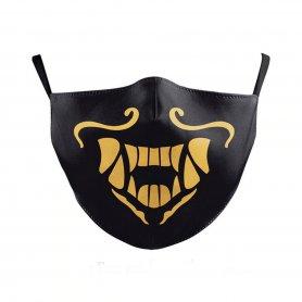 Waterproof face mask 100% polyester - SAMURAI motive