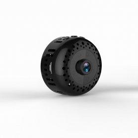 Kulatá mini Full HD kamera WiFi s otočným magnetickým kloubem