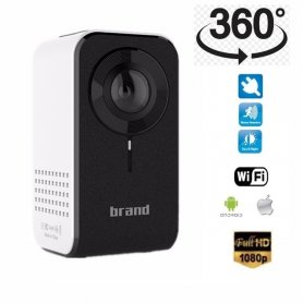 Home security wireless 360° Full HD camera + WiFi