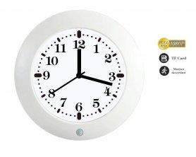 Horloge espion avec caméra FULL HD et capteur PIR pour la détection de mouvement
