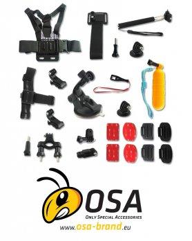 Příslušenství sportovní kamery - Kufřík OSA PACK Standard