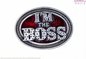 I'm the boss - buckle without belt