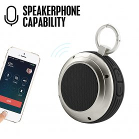 Voombox outdoor travel Bluetooth + waterproof speaker 5W
