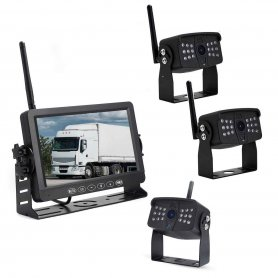 "Wifi parking kamere sa bežičnim monitorom sa snimanjem na SD - 4x AHD wifi kamera + 7 ""LCD DVR monitor"