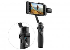 Three-axis gimbal stabilizer for mobile phone