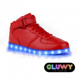 Led light shoes - Red Sneakers