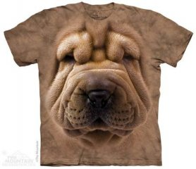 Eco T-shirt - Shar pei theme