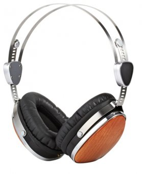 Sleek wooden headphones ESMOOTH ES-660CR
