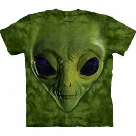 Hi-tech t-shirt cool - Alien