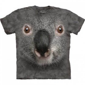 Animal twarz t-shirt - Koala