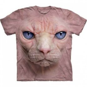 Cara Animal t-shirt - gato egipcio