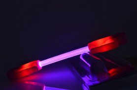 LED-es lámpák kerékpár SuperFlare - Vörös
