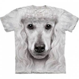 Animal twarz t-shirt - Pudel