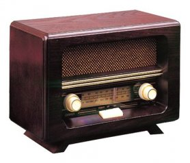 Retro AM / FM radio