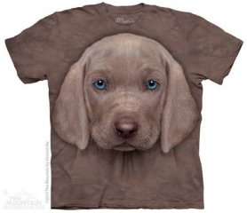Shirt animaux Salut-tech - Weimaraner