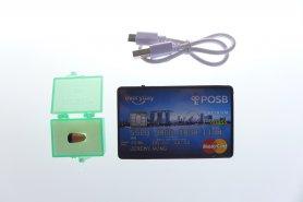 Spy fülhallgató Bluetooth 5W erősítő + SIM (az alakja hitelkártya)