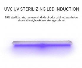 Дезинфицирующее ультрафиолетовое излучение с датчиком движения - белый светодиод + светодиод стерилизации UVC