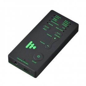 Hangmódosító híváshoz (7 mód) + fejhallgató mikrofonnal