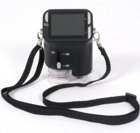 """Taschenmikroskop digital mit 2,4 """"LCD auf micro SD"""