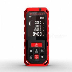 Lézeres távolságmérő akár 100 méteres távolságmérőhöz + IP65 védelem + memória