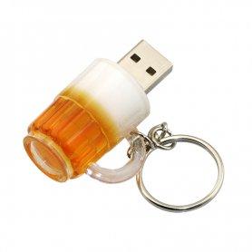 Смішний USB-ключ - пивний ковпак 16 Гб
