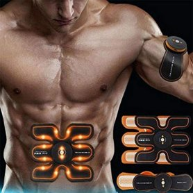 EMS muscle stimulator 3-piece for belly, shoulders and legs - Unisex